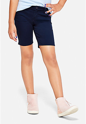 School Uniform Bermuda Shorts