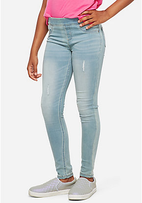 8ff5c45fc70 Tween Girls' Jeggings & Denim Jeans - Skinny, Flare & More | Justice