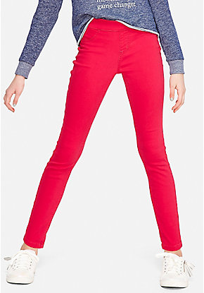 Color Pull On Jean Legging