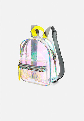 Clear Logo Mini Backpack