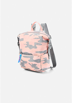 Camo Mini Backpack
