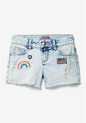 Rainbow Patch Classic Shorts
