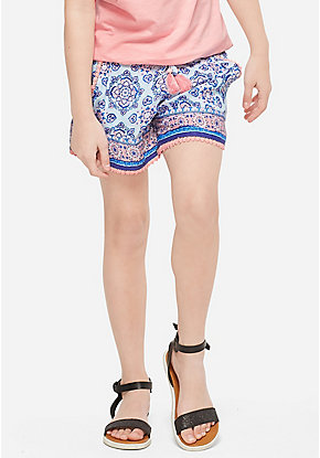 Pattern Soft Shorts