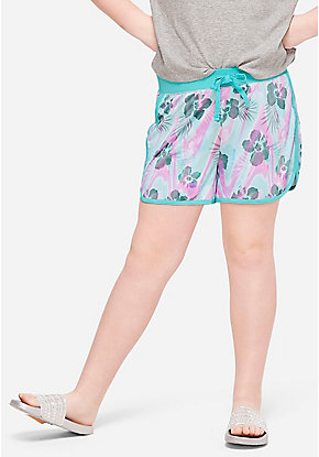 Pattern Dolphin Shorts