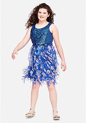 aa5bc85837 Tween Girls  Plus Size Dresses - Sizes 10 12-24