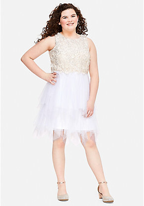 5ef440ff052f Tween Girls  Plus Size Dresses - Sizes 10 12-24
