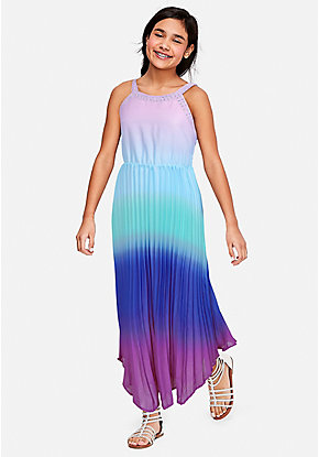 d3251e0eca5 Ombre Sparkle Maxi Dress