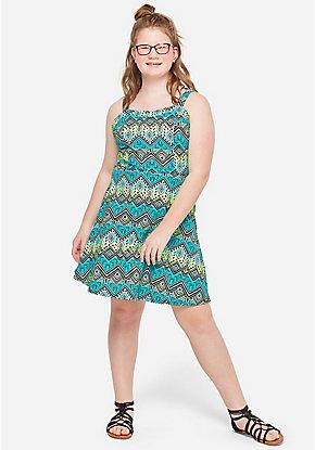 ffc740b16b419 Tween Girls' Plus Size Dresses - Sizes 10/12-24 | Justice