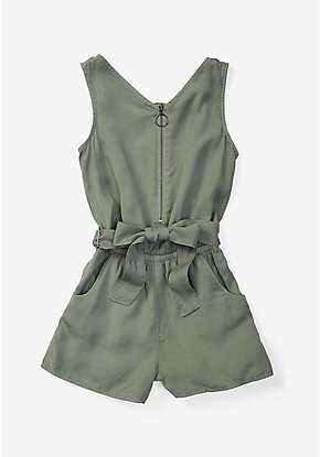 Zip Up Romper