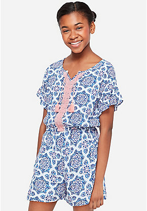 eca4cf37c934 Girls' Dresses, Rompers & Jumpsuits: Casual & Everyday Dresses | Justice