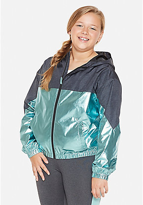 Colorblock Girls Windbreaker
