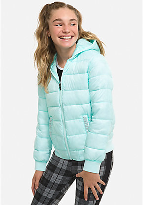 87e5f29aa Girls' Outerwear & Casual Jackets: Bombers, Moto, Denim & More | Justice