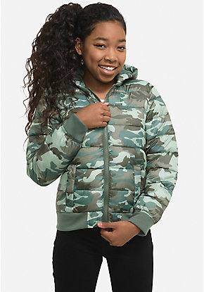 d83665c5a Girls' Outerwear & Casual Jackets: Bombers, Moto, Denim & More | Justice