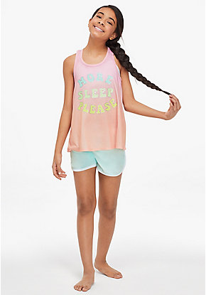 More Sleep Please Ombre Pajama Tank