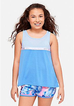 sleepwear. Logo Color Block Sleep Tank 6f9ee74b9