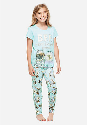 Best Furriends Forever Pajama Set