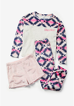 Southwest Logo 3-Piece Pajama Set