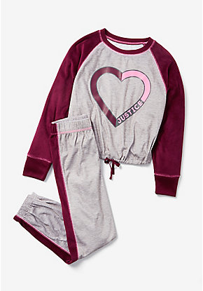 Amaze For Days Velvet Pajama Set