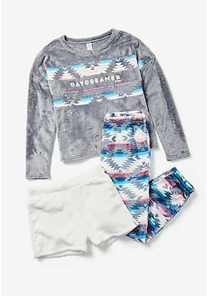 Daydreamer 3-Piece Pajama Set