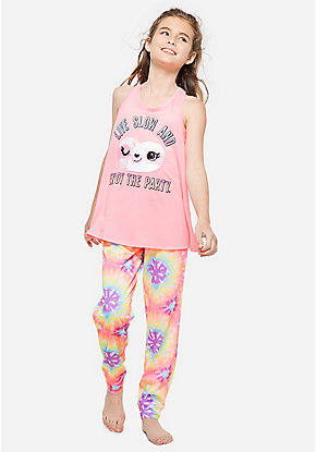 12211cc5cdf Girls' Pajamas - PJ Sets & Sleep Separates | Justice