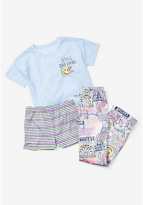 Still Dreaming 3-Piece Pajama Set