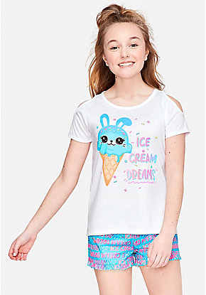 fe43f79e85f6 Girls  Pajamas - PJ Sets   Sleep Separates