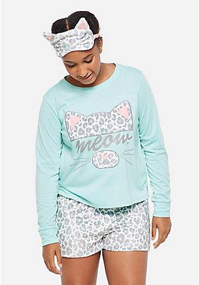 3d951beb83403a Girls' Plus Size Pajamas & PJ Sets - Sizes 10/12-24 | Justice
