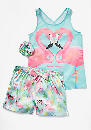 Feeling Flamingood Pajama Set
