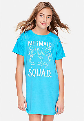 Mermaid Squad Nightgown