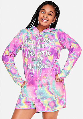 The Unicorn Under My Bed Galaxy Romper