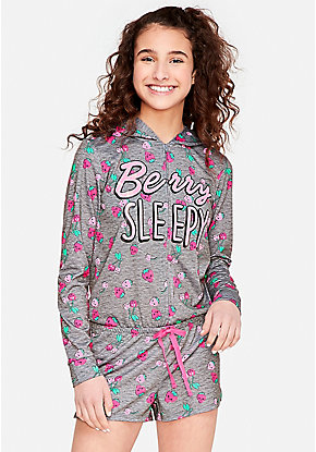 e3598931991b One Piece Pajamas For Girls - Emoji