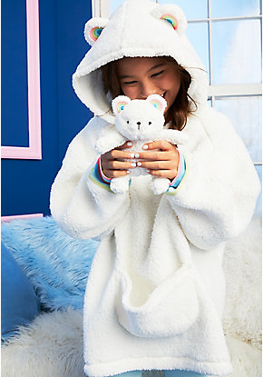 Polar Bear Sherpa Pajama Set & Plush