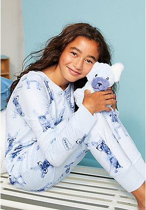 Laterz Puppy One Piece Pajamas & Plush