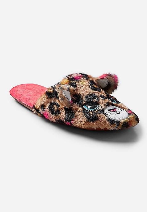 f4f622f28 Cheetah Slippers   Justice