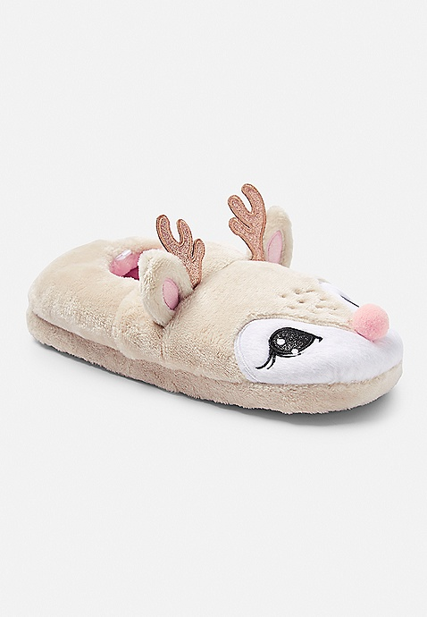 skate shoes brand new good quality Deer Slippers | Justice