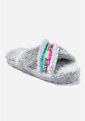 53efd4b55 Fun Slippers   Furry Slipper Boots For Girls