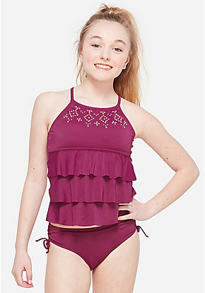 8e3fa1ddf0 Tween Girls' Swimwear & Cute Bathing Suit Styles | Justice