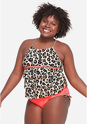 39a9851446f Girls' Plus Size Swimsuits - Sizes 10/12-24 Plus | Justice
