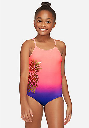 Ombre Pineapple One Piece