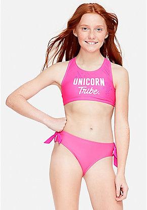 0b401f9d2a728 Unicorn Tribe Racerback Bikini