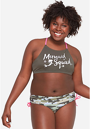 Mermaid Squad Camo Color Changing Bikini