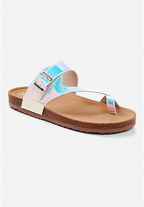 Buckle Slide Sandal