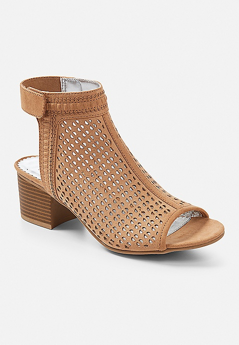 73bc6cb5433d ... Perforated Open Toe Sandal. Previous Next