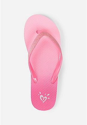 6ed3e561370 Girls  Flip Flops - Patterned   Sequin