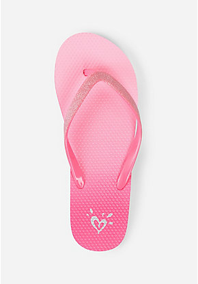 ea75da20e244d1 Girls  Flip Flops - Patterned   Sequin