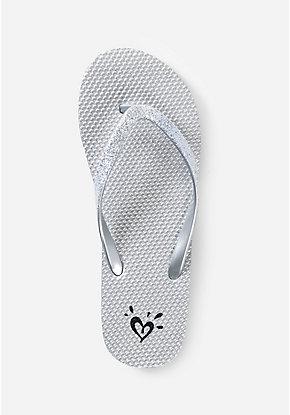 435557edf5831 Girls  Flip Flops - Patterned   Sequin