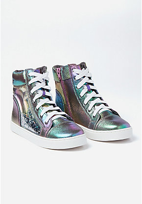 Shimmer Shaky High Top Sneakers