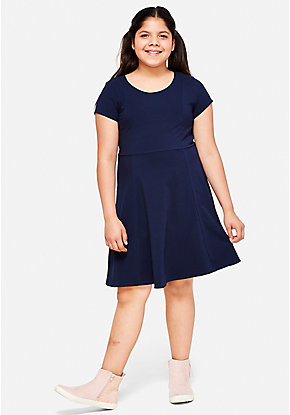 School Uniform A-Line Dress