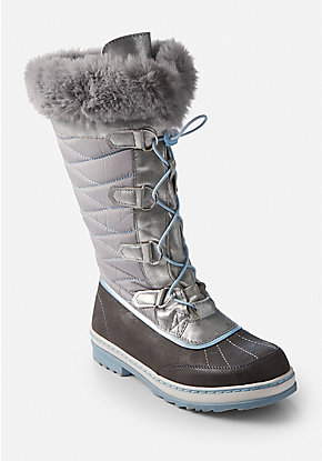 Faux Fur High Snow Boots