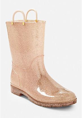 dbb92bda9000 Glitter Jelly Rain Boots
